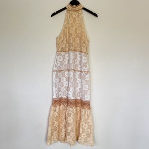 Foxiedox NWT Amelia Midi Lace Dress Size Large